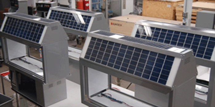Solar Power collectors.